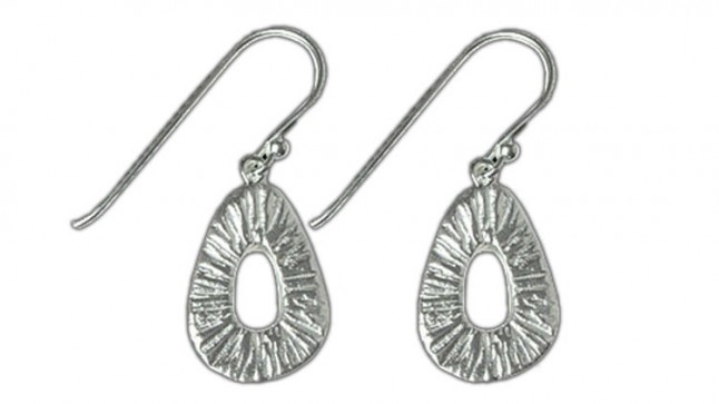 Vizati Sterling Silver Geometric Earrings